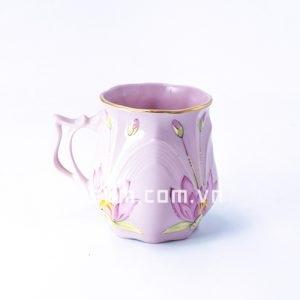 Cốc đơn sứ hồng dịu dàng - BT08A