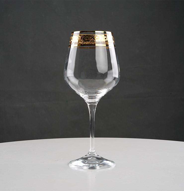 Ly vang Rebecca 540ml khảm vàng - A1KV