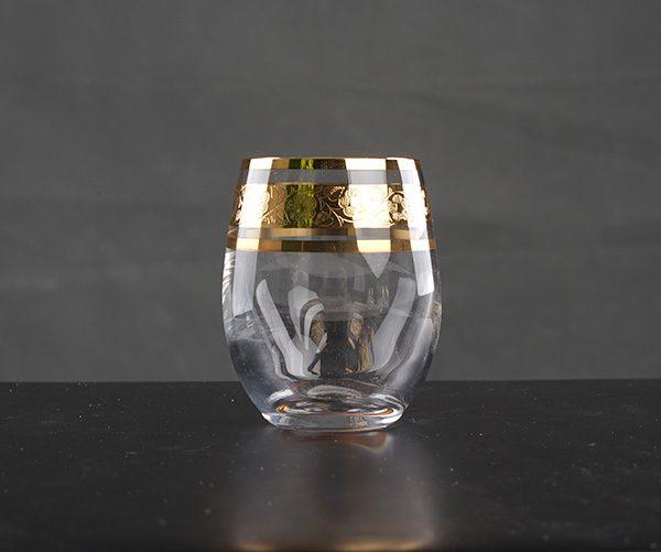 Cốc Club 60ml khảm vàng - B143KV