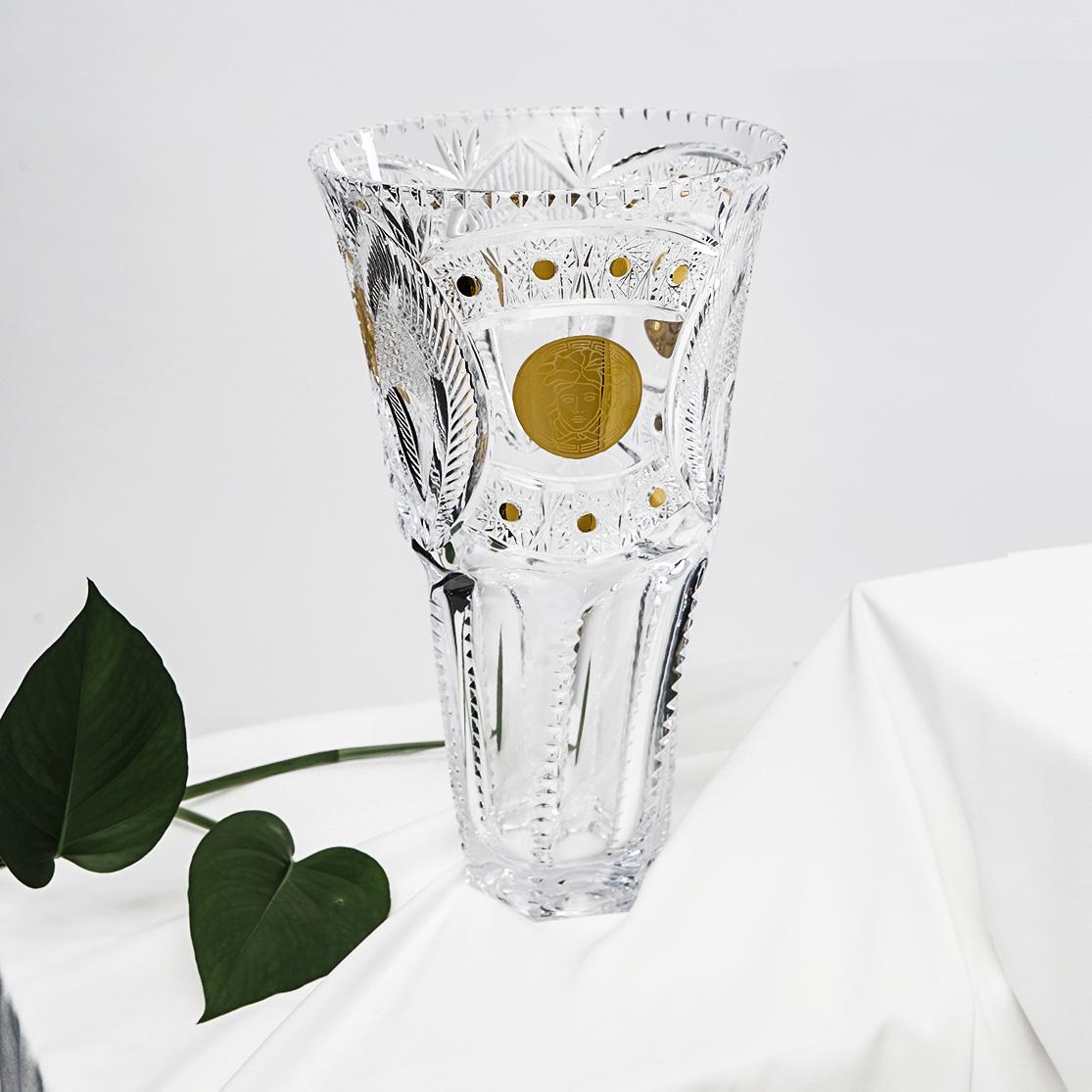 Lọ hoa quà tặng pha lê osum