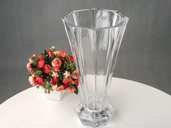 Bán lọ hoa pha lê trắng – C1303