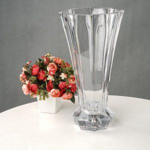 lọ hoa pha lê trắng C1303