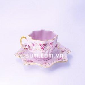 Bộ chén 1 cốc , 1 đĩa - BT05