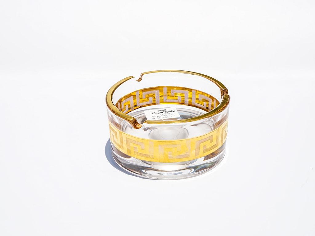 Gạt tàn khắc vẽ vàng - G1.81V