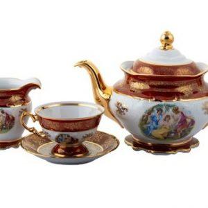 bộ trà sứ cô tiên T185